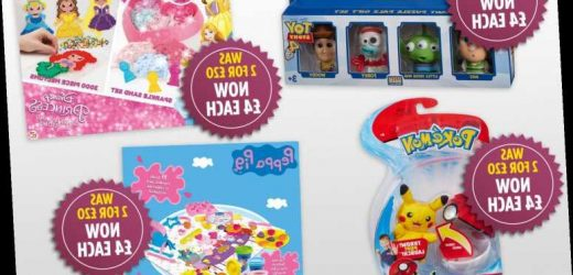 B&M cuts the price of 'two for £20' toys to £4 each – The Sun