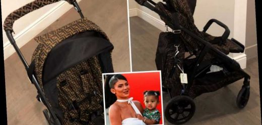 Kylie Jenner shows off Stormi's new $10k stroller and matching $7k diaper bag – The Sun