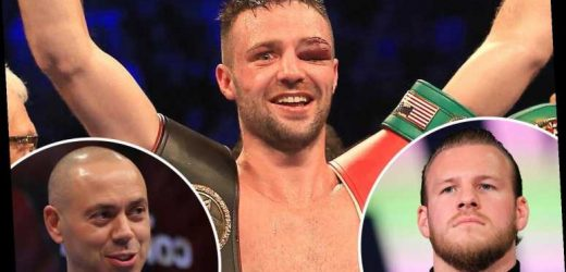 Unified boxing champ Josh Taylor torn between Ben Davison and Adam Booth… but not ruling out sensational switch to US – The Sun