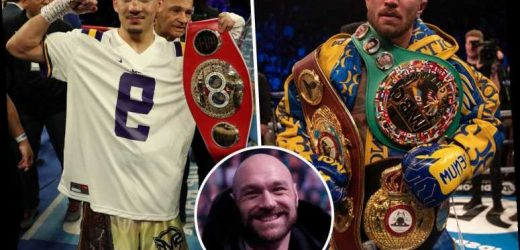Tyson Fury names Teofimo Lopez as the one man who could beat Lomachenko as he's a 'heavyweight on tiny legs' – The Sun