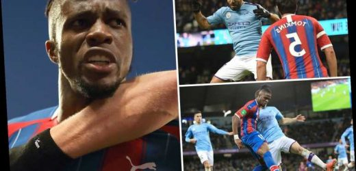 Man City 2 Crystal Palace 2: Stoppage time Fernandinho own goal denies City three points after late Aguero double – The Sun
