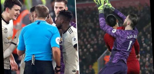 Man Utd charged with failing to control players during Liverpool clash after Firmino goal – The Sun