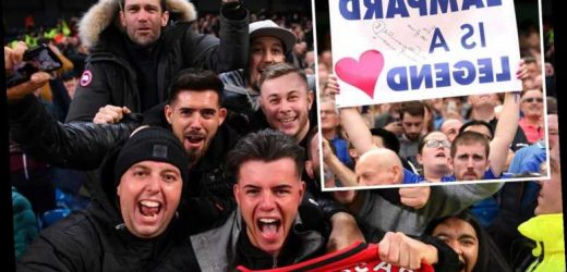 Man Utd have second best away fans in Premier League while Chelsea's travelling support seriously need to up their game – The Sun