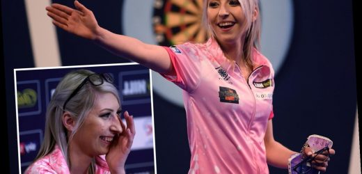Darts 'Queen of the Palace' Fallon Sherrock reveals autistic son's pride at her history-making achievements – The Sun