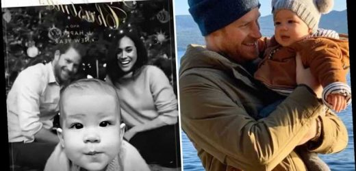 Meghan Markle & Prince Harry gave 'confident' baby Archie 'books, blocks & ball pit' for Christmas, source says