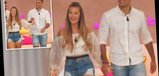 Love Island fans in hysterics as new boy Connagh drops Shaughna's hand on return to villa – The Sun