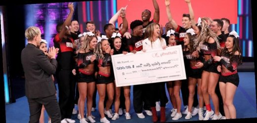 Netflix's 'Cheer' Cast Wows With Incredible Routine on 'Ellen' – Watch!