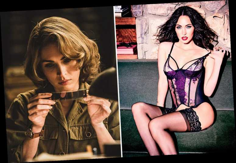 Megan Fox shows off her enviable figure in lingerie as she goes blonde for new Korean War film – The Sun