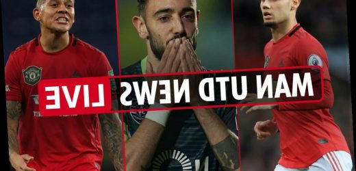 1pm Man Utd transfer news LIVE: Bruno Fernandes to join THIS WEEK, Pereira or Rojo to Sporting, Shaw to Leicester – The Sun