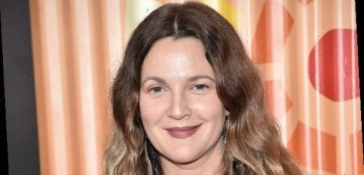 Drew Barrymore Finally Explained Those Photos of Her Drinking Champagne on the Red Carpet