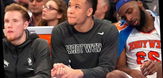The Knicks' greatest Kevin Knox fears are being realized