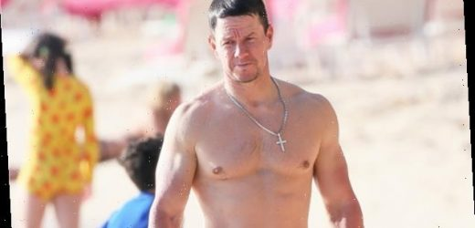 Mark Wahlberg, 48, Posts Shirtless Video Of Him Flexing His Huge Muscles & Fans Go Wild — Watch
