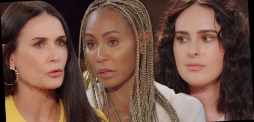 Demi Moore's Daughters Reveal How Her Drug and Alcohol Abuse Impacted Them on Emotional Red Table Talk