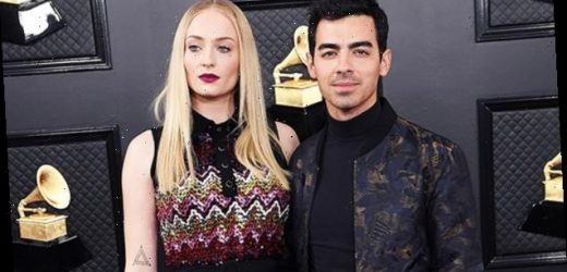 Sophie Turner Is Fierce In A Black Mini Dress As Joe Jonas' Date To The Grammys