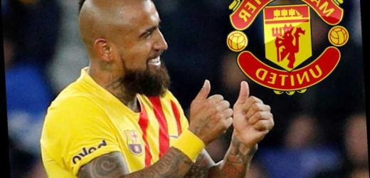 Man Utd interested in transfer swoop for Barcelona ace Arturo Vidal with Solskjaer facing midfield injury crisis – The Sun