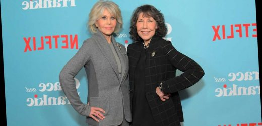 Climate protesters Jane Fonda and Lily Tomlin get'arrested' again – this time on 'Ellen'
