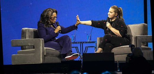 Amy Schumer shares constipation struggles with Oprah