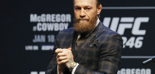 Mixed martial arts: McGregor skirts assault issue, talks fashion instead