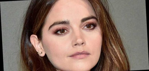 Jenna Coleman's 70s power suit and blow-dry are too cool in these new photos