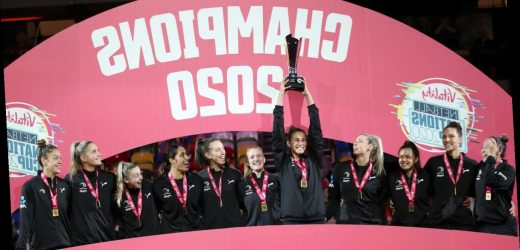 New Zealand's Silver Ferns take Vitality Nations Cup title