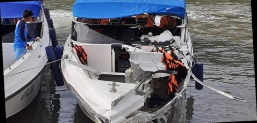 Boy, 12, and girl, 6, killed in speedboat crash that left another 20 injured