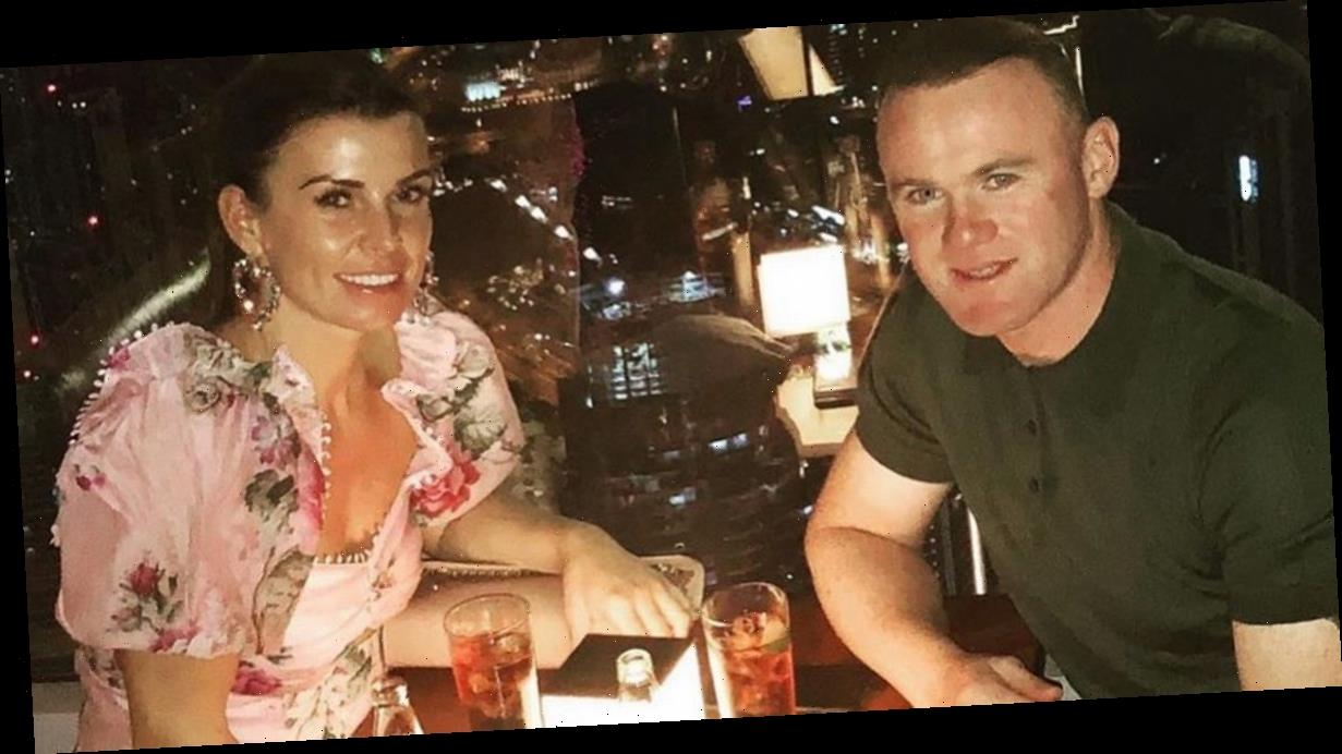 Coleen Rooney and Wayne celebrate 18 years with Valentine's Day at The Shard
