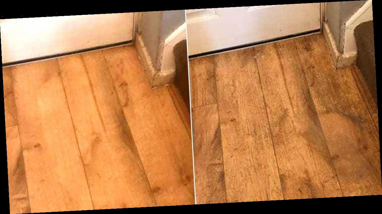 Mrs Hinch fan shares incredible £2 hack which lifts years of dirt from flooring