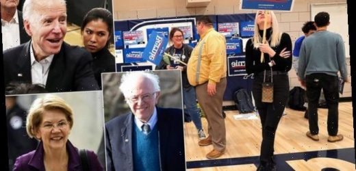 Mystery delay hits the Iowa caucus results