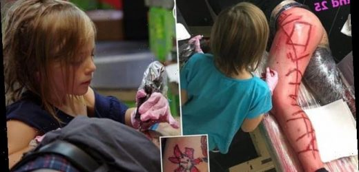 Meet the youngest tattoo artist in the world: