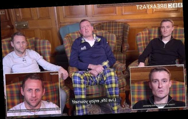 Doddie Weir, Rob Burrow and Stephen Darby discuss living with MND
