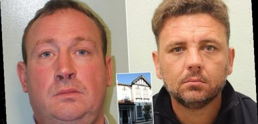 Rogue builders both jailed eight years after swindling WWII veteran