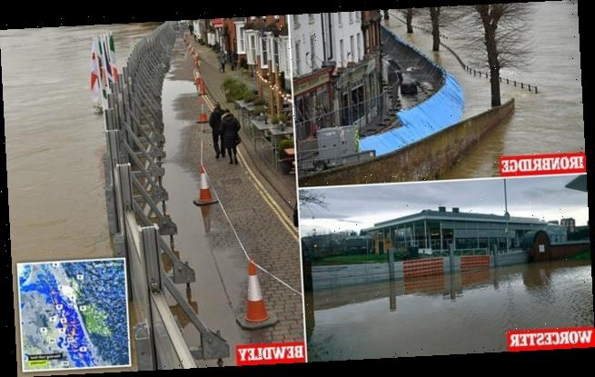 Hail storm will dump a month's rain on water-ravaged towns today