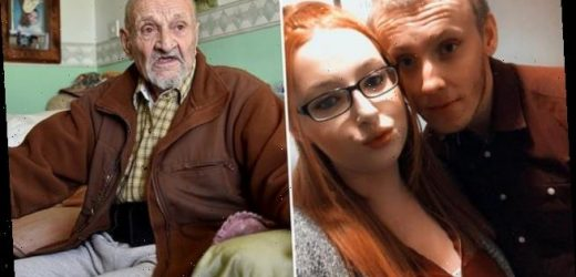 Couple move in home to find 99-year-old pensioner already living there