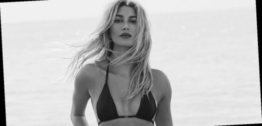 """Beach Babe"" Should Be Added to the Dictionary With Hailey Bieber's Elle Shoot as the Definition"