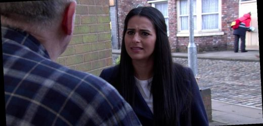 Corrie's Alya 'set to expose' Geoff's abuse of Yasmeen after sinister discovery