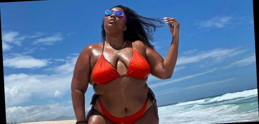 "Lizzo's Beachside Posts ""Live From Brazil"" Are the Mental Vacation We Needed Today"