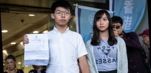 Hong Kong's young protest leader issues a call to arms