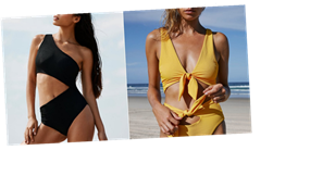 24 Insanely Sexy Bikinis and One-Pieces We're Snatching Up ASAP