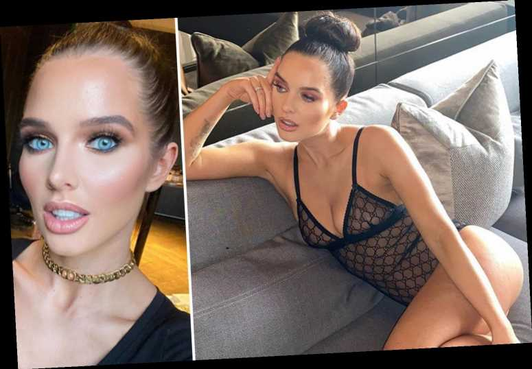 Helen Flanagan shows off incredible figure in completely sheer Gucci bodysuit after delaying wedding to Scott Sinclair – The Sun