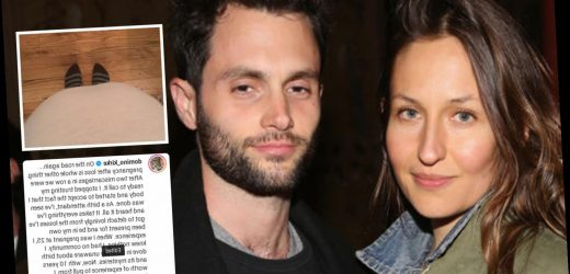 You star Penn Badgley's wife Domino Kirke pregnant with their first child after two miscarriages – The Sun