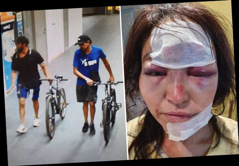 Commuter suffers horrific facial injuries after being attacked and robbed while walking to the train station – The Sun