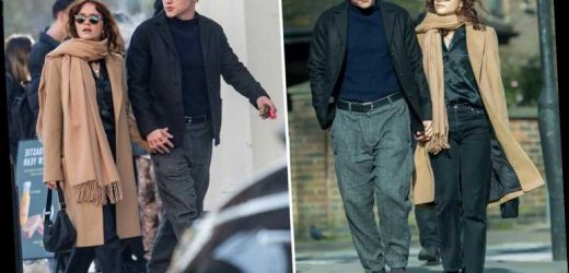 Ex EastEnders star Ben Hardy pictured on a romantic stroll with Vanity Fair star Olivia Cooke – The Sun
