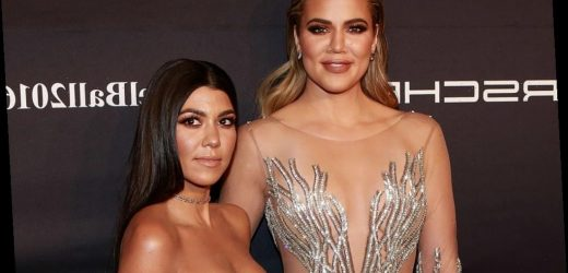 Khloé Kardashian Models After Big Sister Kourtney When It Comes to Doing This 1 Thing