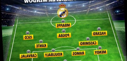 How Real Madrid could line up with terrifying XI including Mbappe and Pogba after mega summer transfer window – The Sun