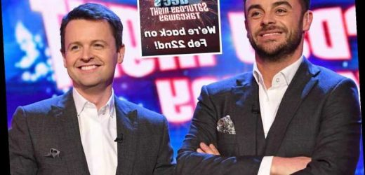Ant & Dec's Saturday Night Takeaway return date confirmed – and it's just over a week away – The Sun
