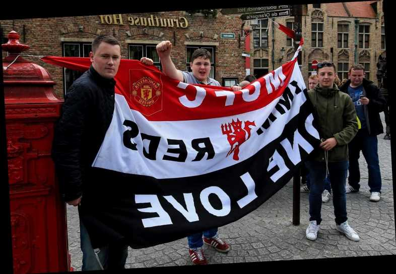 Man Utd fans blast Bruges for 'deplorable treatment' and insist they 'feared for their safety' at Europa League clash – The Sun
