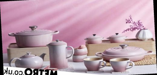 Le Creuset has launched a millennial pink ombre collection and it looks divine