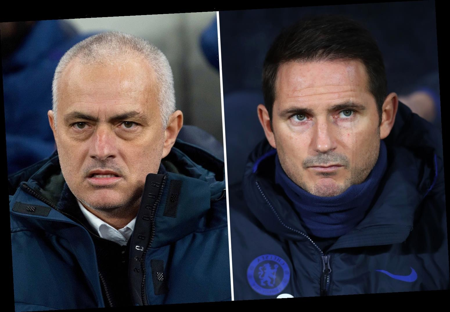 Chelsea boss Lampard refuses to be fooled by Mourinho's claim Tottenham are firing blanks – The Sun