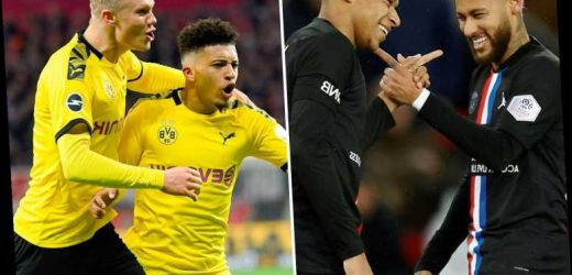 Mbappe, Neymar and Icardi could line up against Sancho, Haaland and Reus – but do PSG or Dortmund boast best attackers? – The Sun