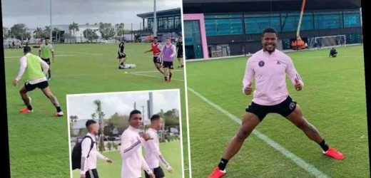 Inside Inter Miami's first training session at new £50m pound complex as Beckham's side prepare for MLS debut – The Sun